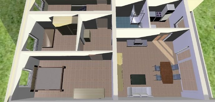 3D Modell mit Einrichtungsbeispiel