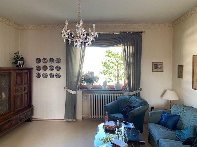 Fernsehbereich des Wohnzimmers