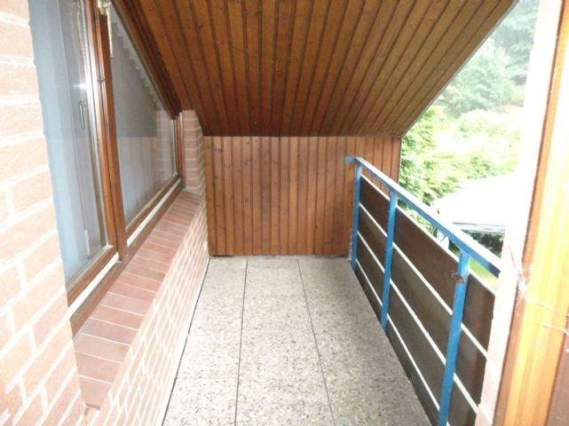 Süd-West Balkon