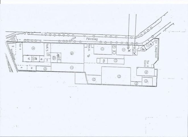 Lageplan Gebäude 2-3A