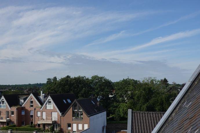 Blick über Xanten nach Süden