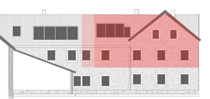 Ansicht NO Plan Wohnung 155m2