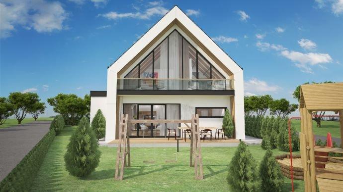 Vorschlag: Ostansicht mit Möglichkeit Balkon