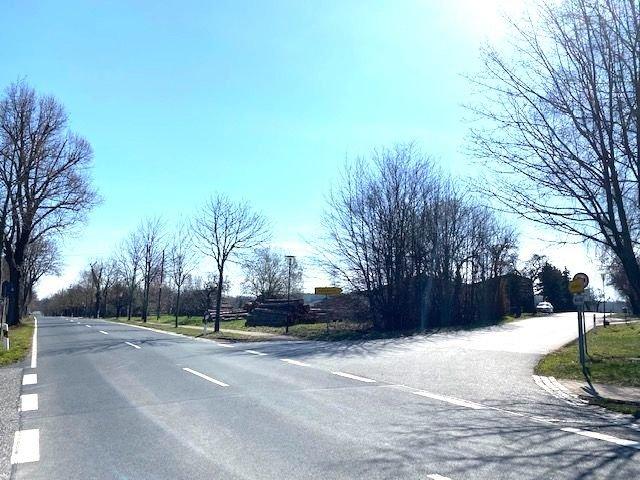 Ecke in Richtung Wilsdruff