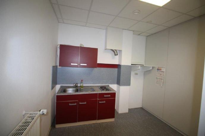 Blick in die eingerichtete Küche.