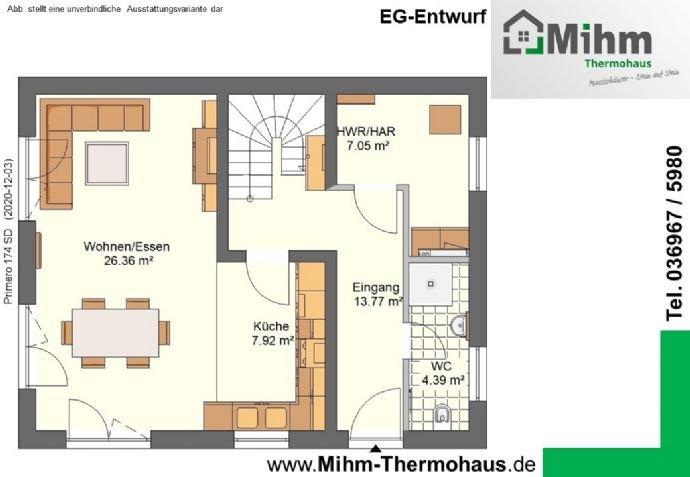 Mihm-Thermohaus_Primero174SD-Ost_EG-Entwurf