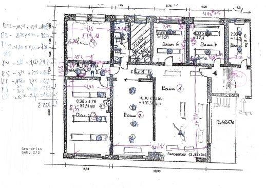 Grundriss Gebäude 2-3A