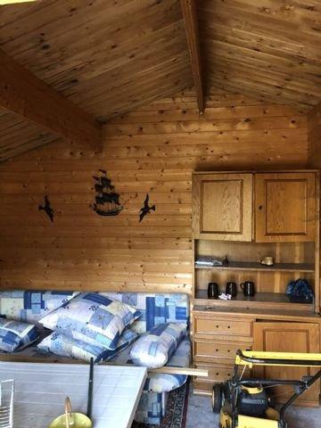 Wohnbereich das Dach muss erneuert werden