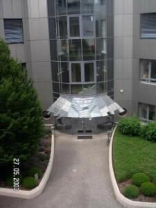 Eingang Haus 11 von oben