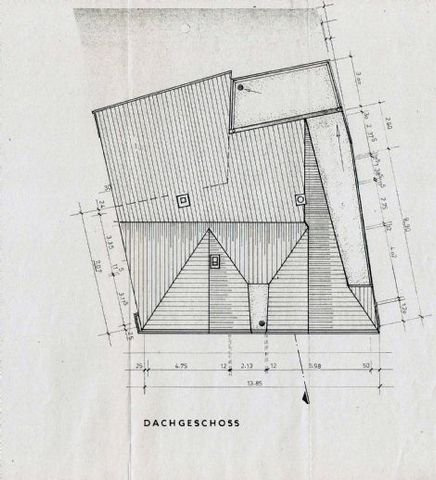 Grundriss-Dach