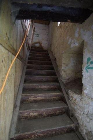 Haupthaus - Treppe zum Obergeschoß