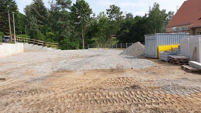 Bereich für Garagen und Außenstellplätze