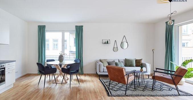 Wohnzimmer (Musterwohnung)