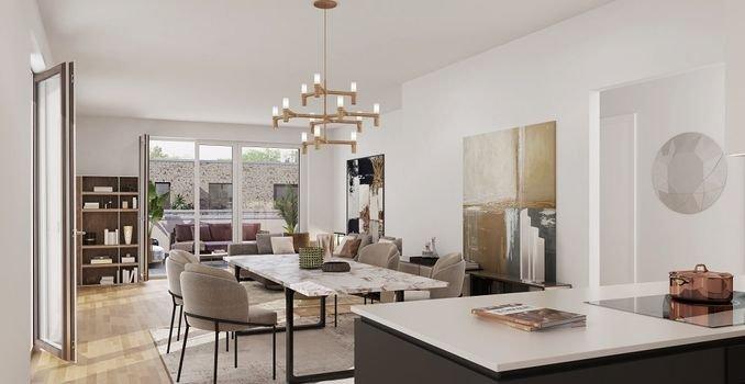 Wohnbeispiel Penthousewohnung