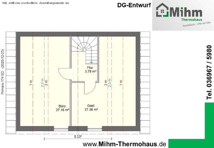 Mihm-Thermohaus_Primero174SD-Ost_DG-Entwurf