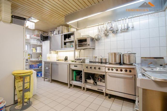 Gewerberaum: ehemalige Küche im Erdgeschoss