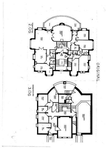 Grundriss Maisonette Terrassenwohnung  Istzustand