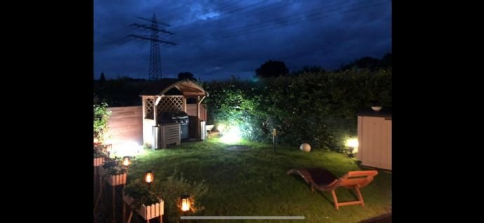 Romantik pur im Gartenteil