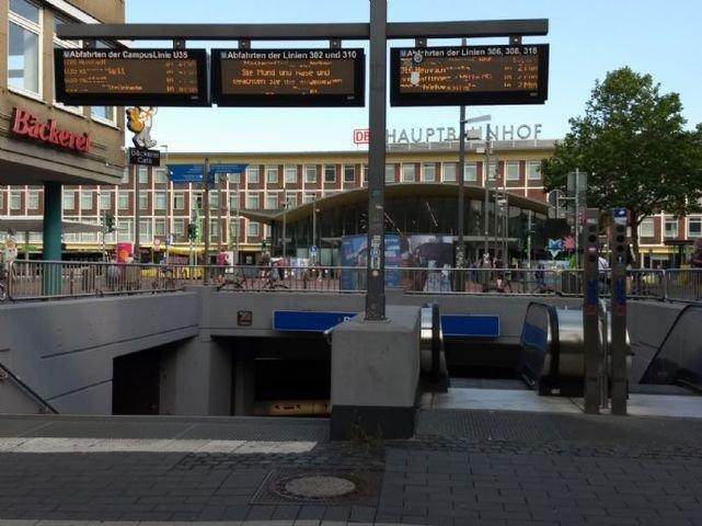 Treppenausgang Hauptbahnhof