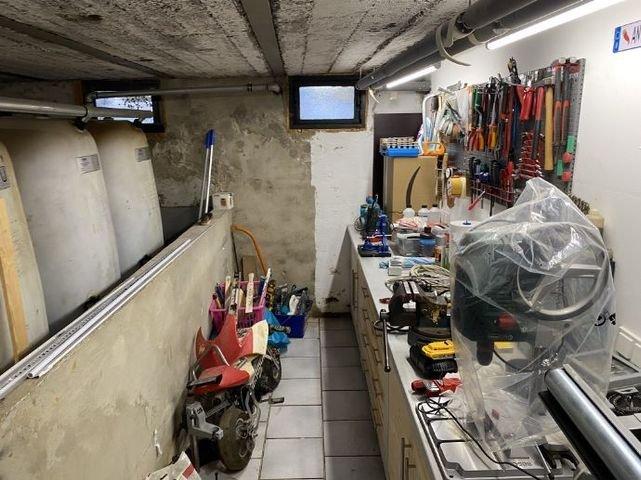 Heizung und Werkstattraum