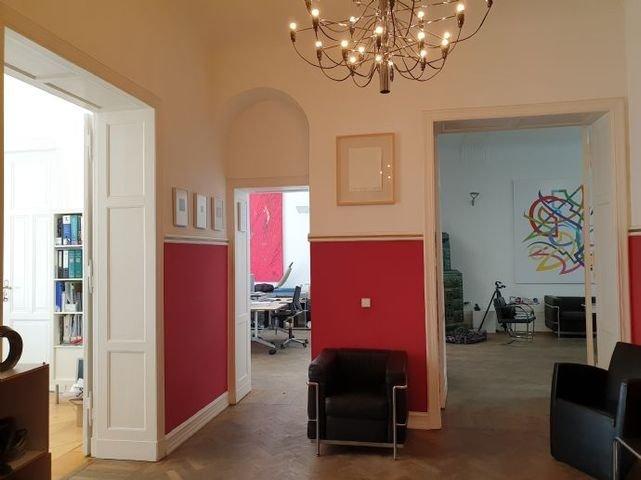 Lobby, Blick in die Arbeitsräume