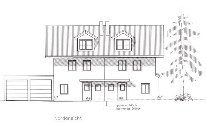 Ansicht Norden Haus 2