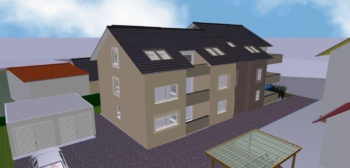 Mehrfamilienhaus Nord/West mit Dachflächenfenstern