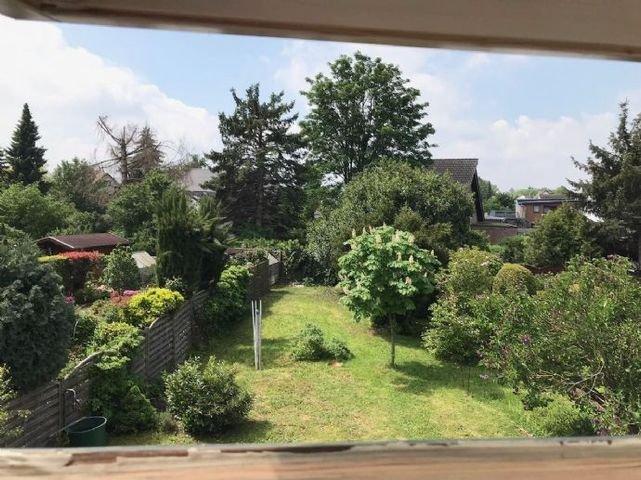 Ansicht Garten von oben