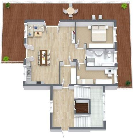 1.Obergeschoss Wohnung Nummer 2