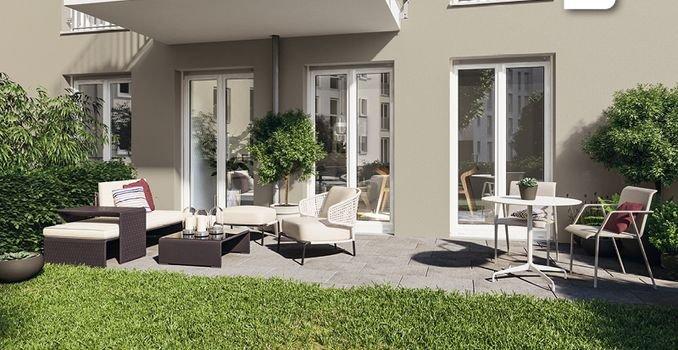 Beispiel Terrassenwohnung