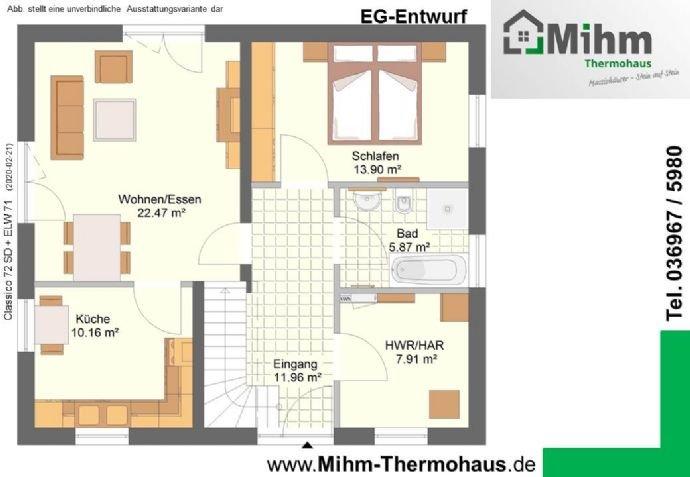 Mihim-Thermohaus_Classico72SD+ELW71_EG-Entwurf