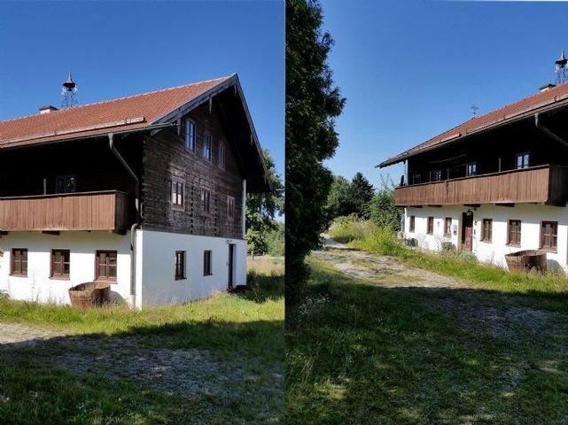 Detailansichten des Bauernhaus
