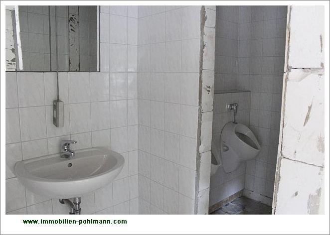 Vorbereitung Herren-WC