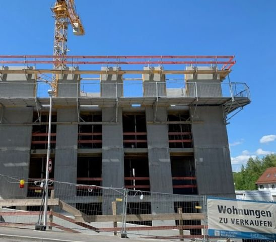 Baustellenfortschritt Juni