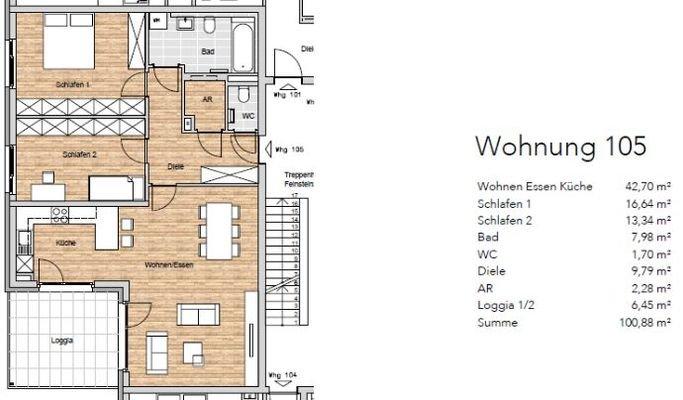 Wohnung 105