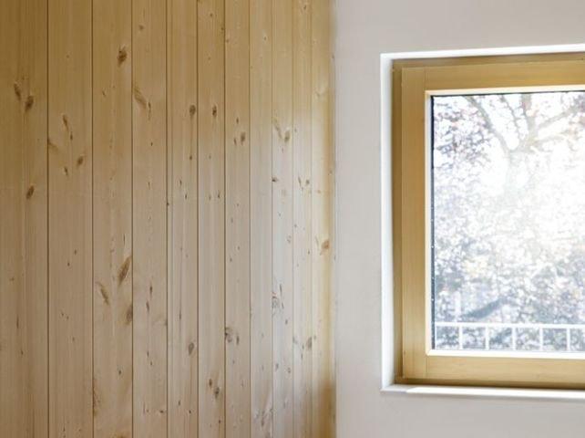 Massivholz-Bauweise - leim- und metallfrei