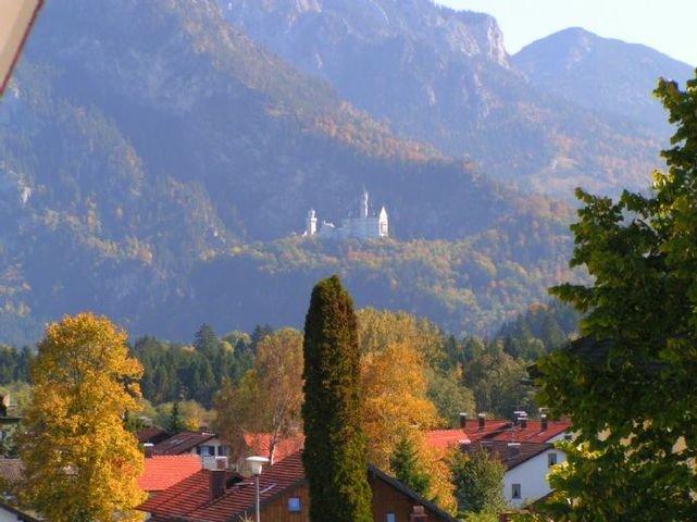 Ausblick Schloß Neuschwanstein