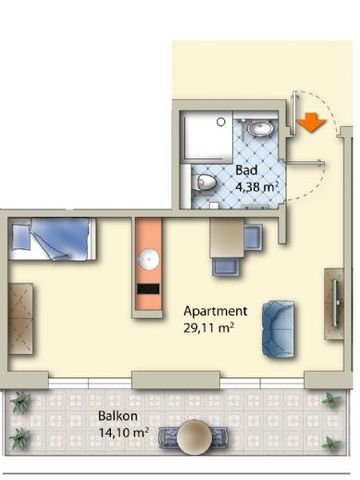 Appartement - Muster