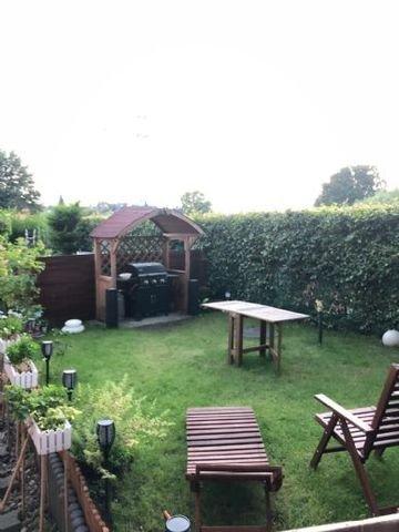 Gemütlicher Bereich im Garten