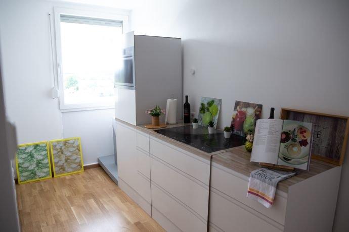 Blick in die Küche (1)