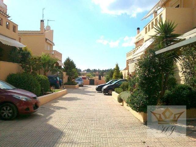 Blick auf die Nachbarschaft
