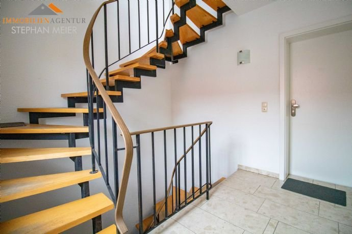Treppenhaus der Mietwohnungen