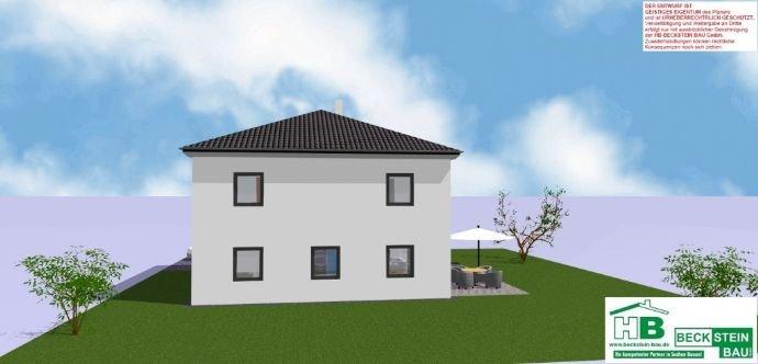 Haus 3 Ansicht 3-D Westen