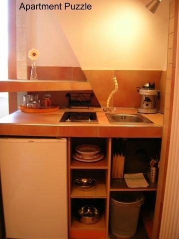 Apartment Puzzle, Küche