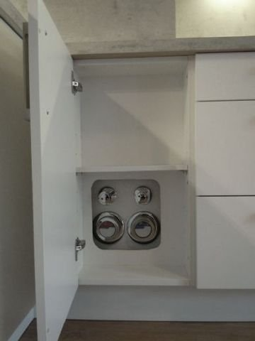 versteckte Zähler Küche