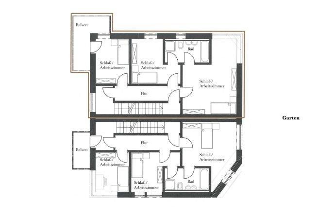 Haus 1 - 1. Obergeschoss