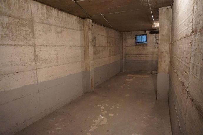 Lagerraum im Untergeschoss