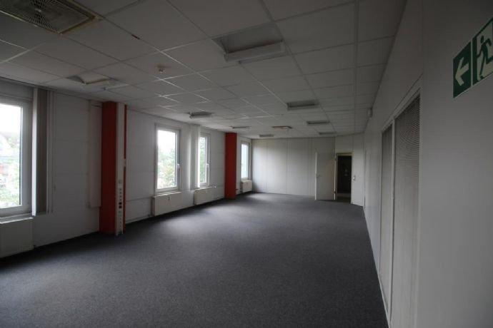Blick in die einteilbare Bürofläche