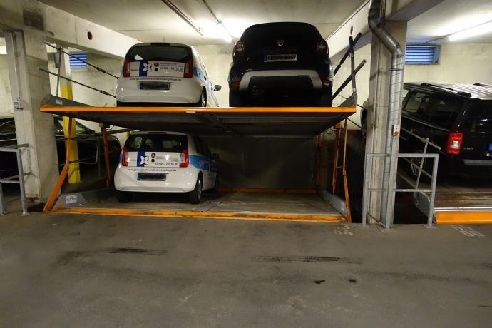 Stapelparkplätze