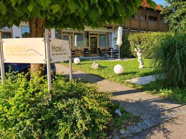 Hotel am Hachinger Bach Außenansicht